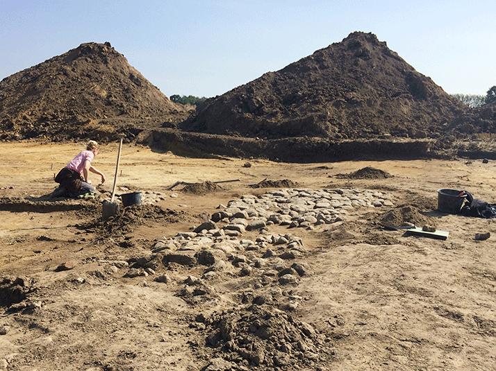 Forskellige former for gravearbejde